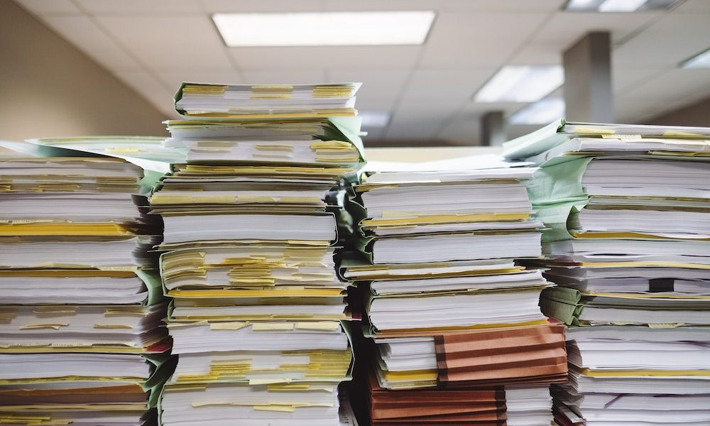 Finance has too much paperwork, not enough automation