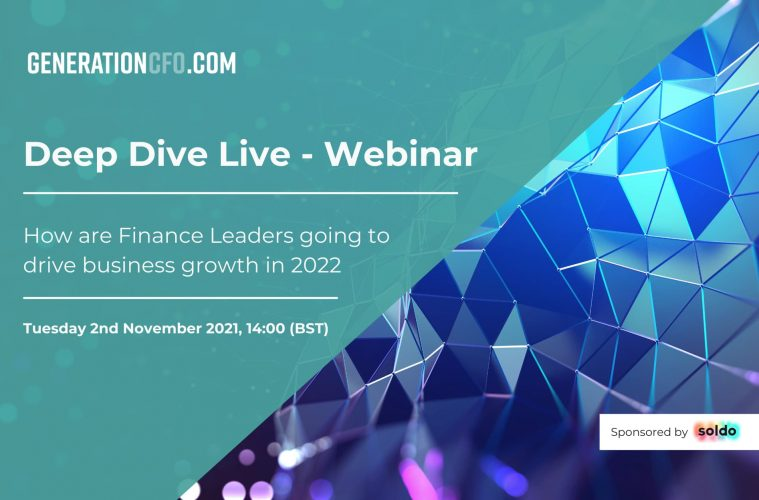 Webinar: How are Finance Leaders going to drive business growth in 2022